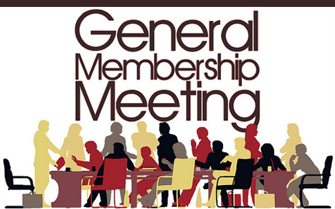 General Membership Meeting 2MAR2017