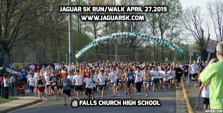 Jaguar 5K picture promotion 2019